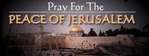 pray for peace of jerusalem logo