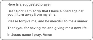 sinners prayer of salvation